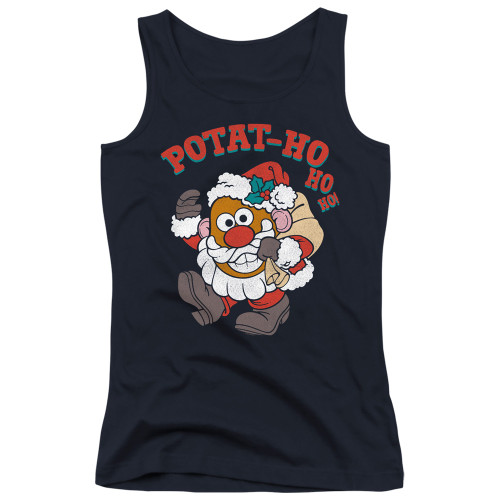Image for Mr. Potato Head Girls Tank Top - Ho Ho Ho