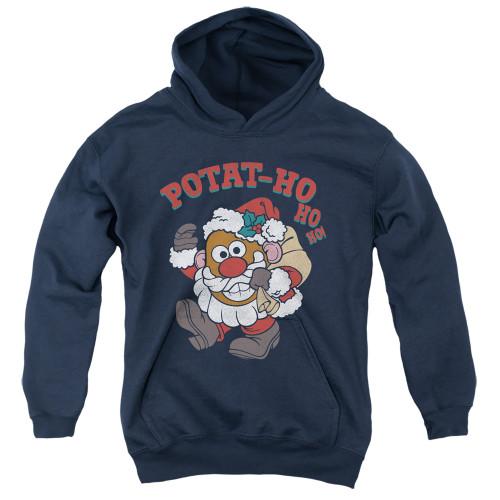 Image for Mr. Potato Head Youth Hoodie - Ho Ho Ho