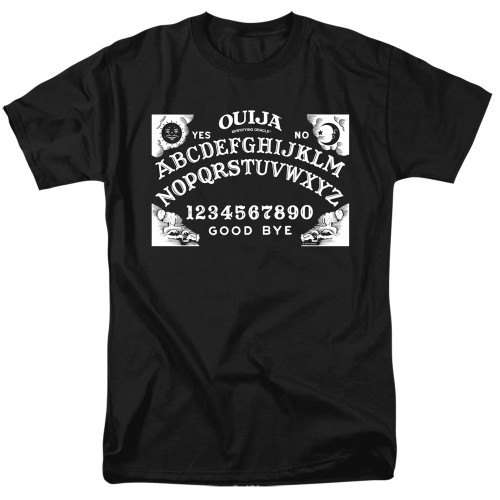 Image for Ouija T-Shirt - Board on Black