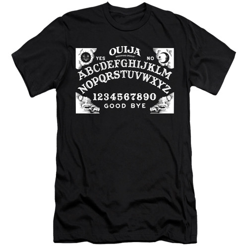 Image for Ouija Premium Canvas Premium Shirt - Board on Black