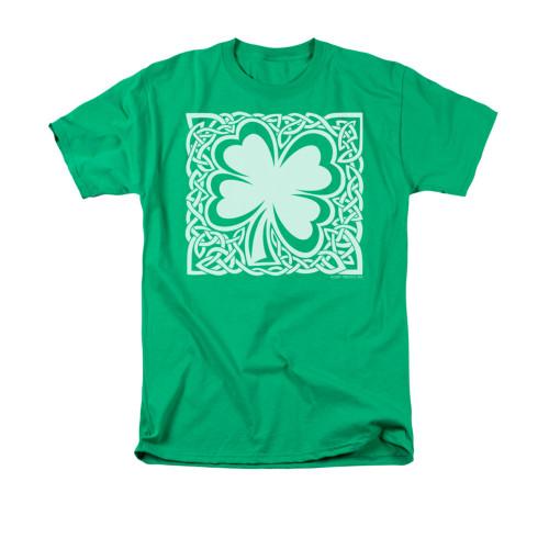 Image for Saint Patricks Day T-Shirt - Celtic Clover
