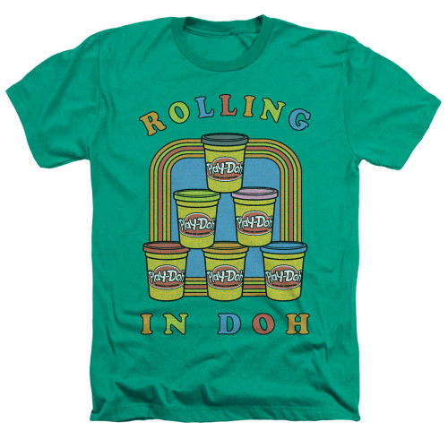 Image for Play Doh Heather T-Shirt - Rolling in Doh