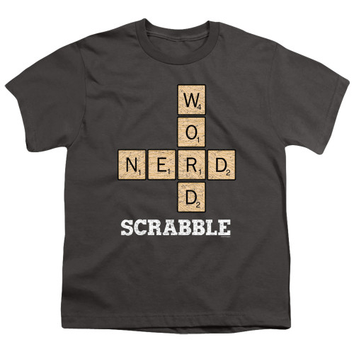 Image for Scrabble Youth T-Shirt - Word Nerd