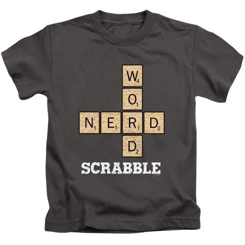 Image for Scrabble Kids T-Shirt - Word Nerd