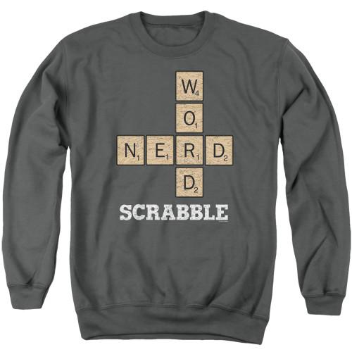 Image for Scrabble Crewneck - Word Nerd