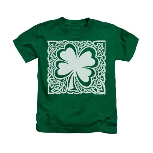 Image for Saint Patricks Day Kids T-Shirt - Celtic Clover