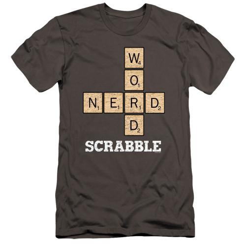 Image for Scrabble Premium Canvas Premium Shirt - Word Nerd