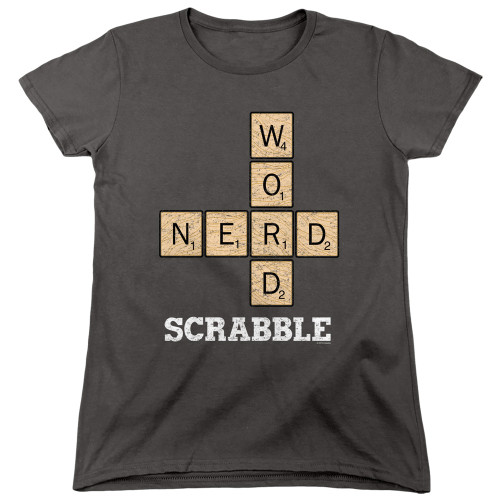 Image for Scrabble Woman's T-Shirt - Word Nerd