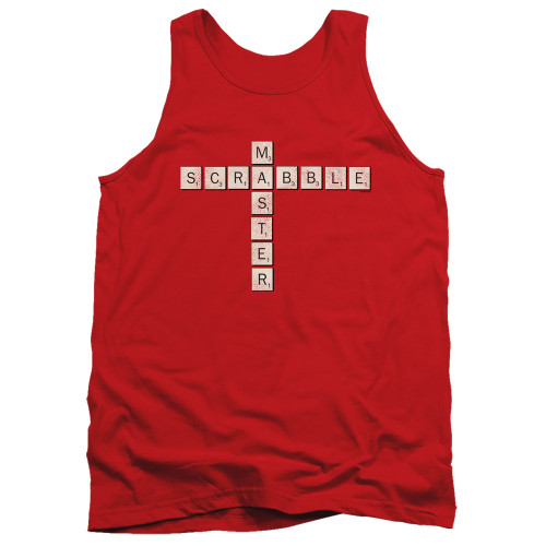 Image for Scrabble Tank Top - Scrabble Master