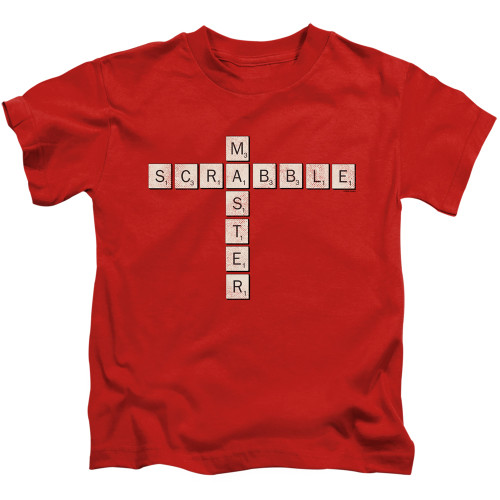 Image for Scrabble Kids T-Shirt - Scrabble Master