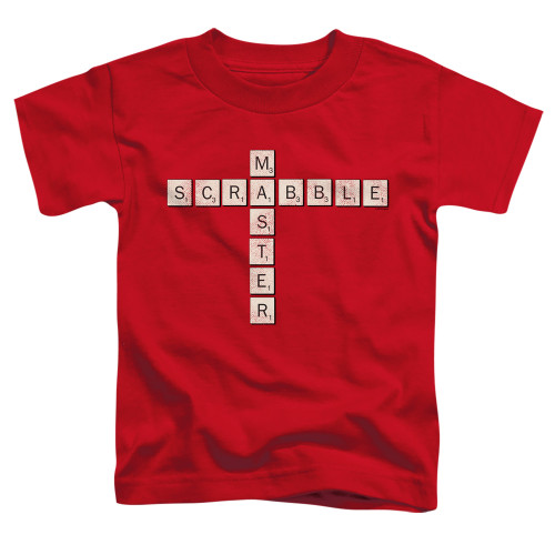 Image for Scrabble Toddler T-Shirt - Scrabble Master