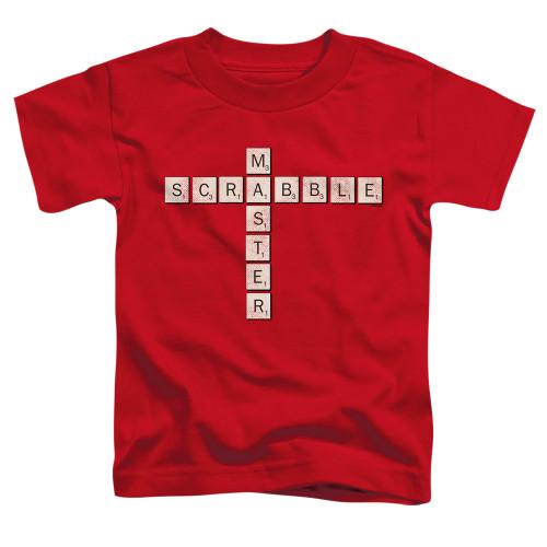Image for Scrabble Toddler T-Shirt - Scrabble Master