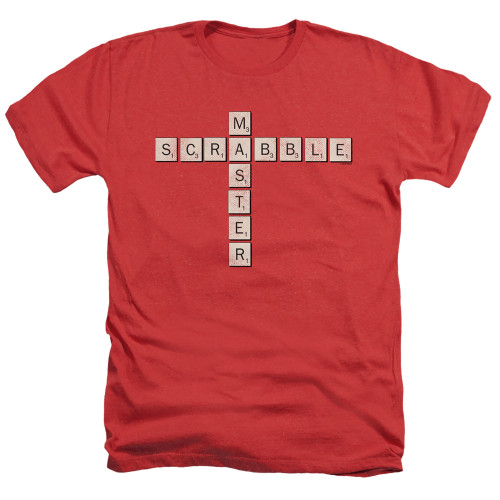 Image for Scrabble Heather T-Shirt - Scrabble Master