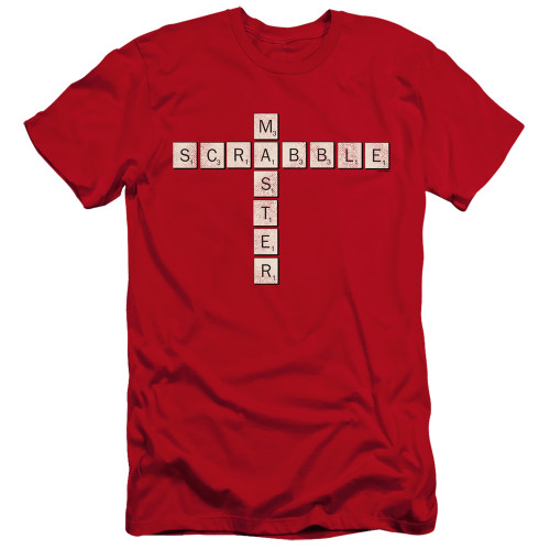 Image for Scrabble Premium Canvas Premium Shirt - Scrabble Master