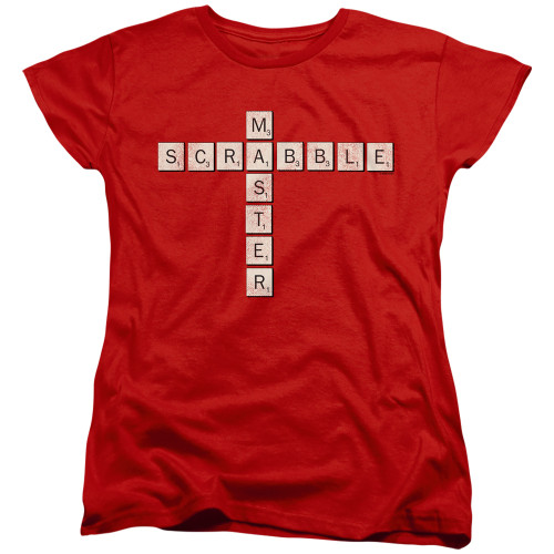 Image for Scrabble Woman's T-Shirt - Scrabble Master