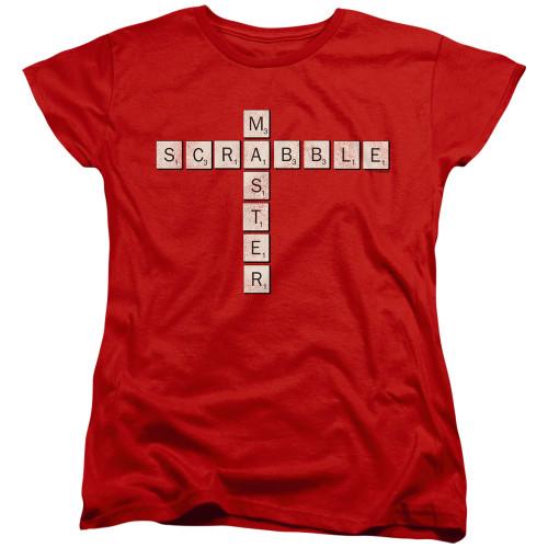 Image for Scrabble Woman's T-Shirt - Scrabble Master