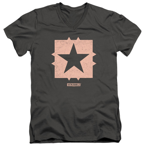 Image for Scrabble T-Shirt - V Neck - Free Space