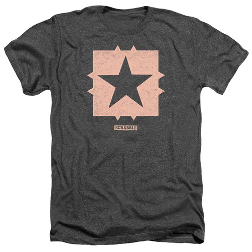 Image for Scrabble Heather T-Shirt - Free Space