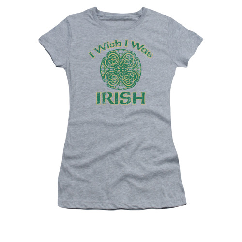 Image for Saint Patricks Day Girls T-Shirt - Irish Wish