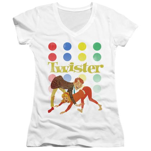 Image for Twister Girls V Neck T-Shirt - Old School