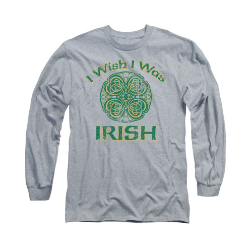 Image for Saint Patricks Day Long Sleeve T-Shirt - Irish Wish