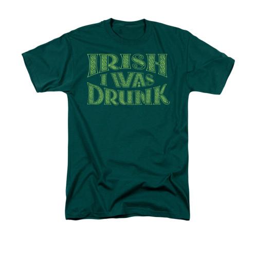 Image for Saint Patricks Day T-Shirt - Irish I Was Drunk