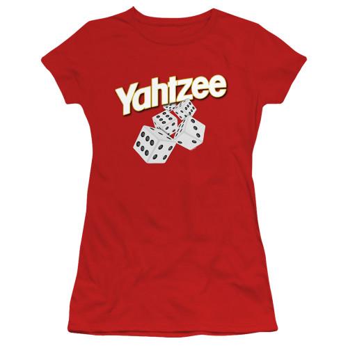 Image for Yahtzee Girls T-Shirt - Tumbling Dice