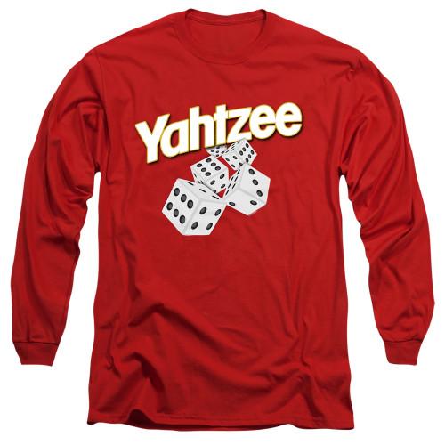 Image for Yahtzee Long Sleeve T-Shirt - Tumbling Dice