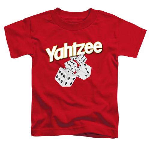 Image for Yahtzee Toddler T-Shirt - Tumbling Dice