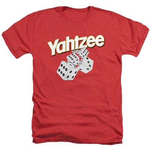 Image for Yahtzee Heather T-Shirt - Tumbling Dice