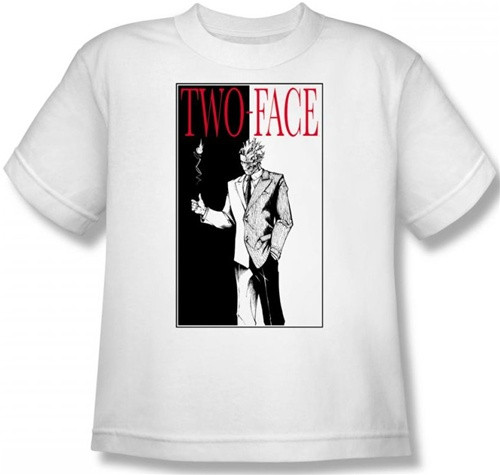 Image for Two Face Youth T-Shirt