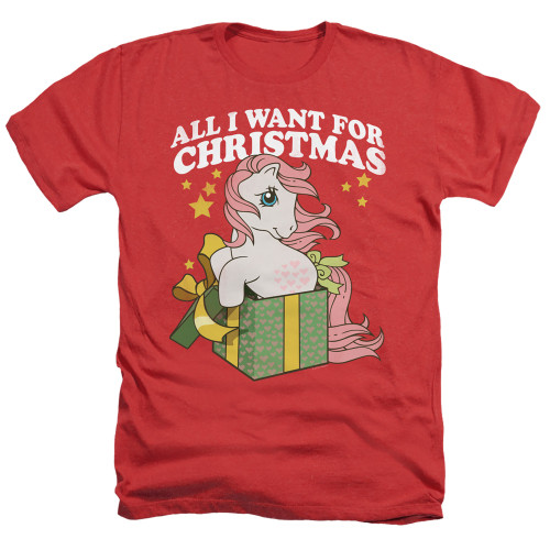 Image for My Little Pony Heather T-Shirt - All I Want