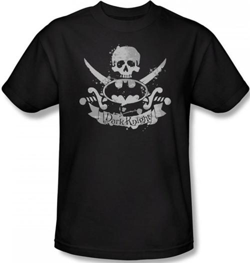 Image Closeup for Batman T-Shirt - Dark Pirate Logo