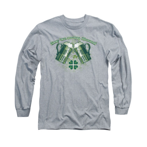 Image for Saint Patricks Day Long Sleeve T-Shirt - Green Beer