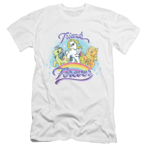 Image for My Little Pony Premium Canvas Premium Shirt - Retro Friends Forever