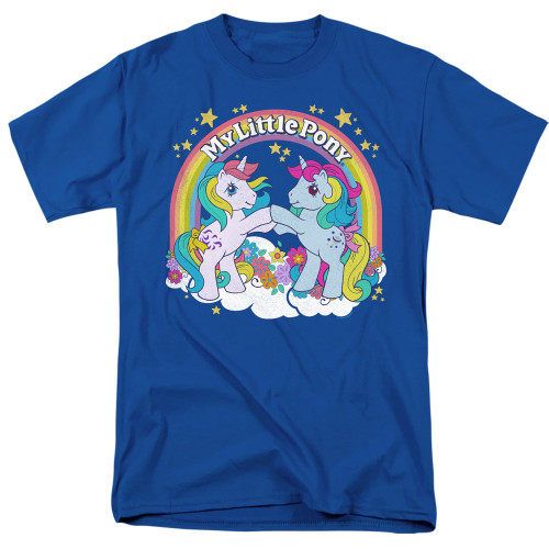 Image for My Little Pony T-Shirt - Retro Unicorn Fist Bump
