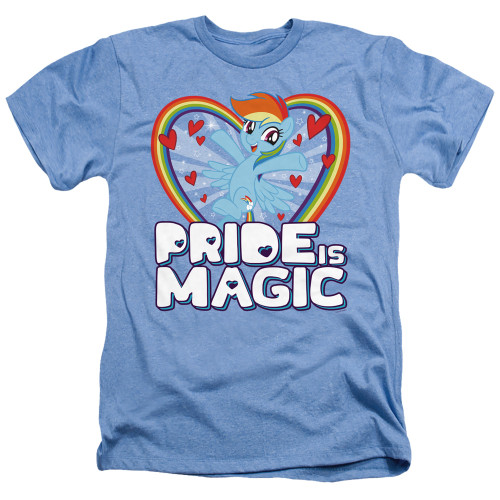 Image for My Little Pony Heather T-Shirt - Pride is Magic