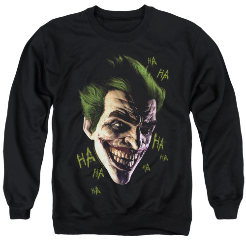Image for Batman Crewneck - Joker Grim