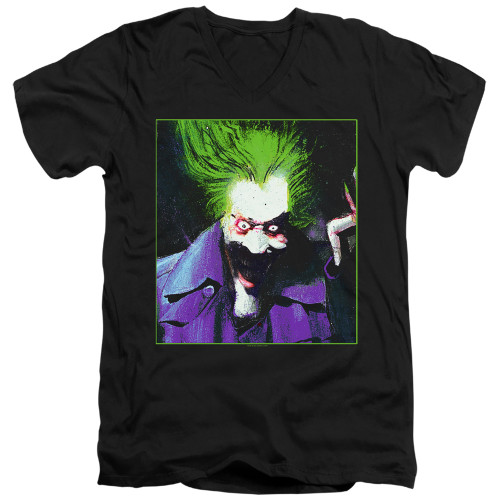 Image for Batman T-Shirt - V Neck - Joker Arkham Asylum