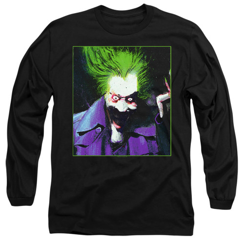 Image for Batman Long Sleeve T-Shirt - Joker Arkham Asylum