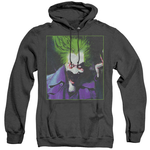 Image for Batman Heather Hoodie - Joker Arkham Asylum