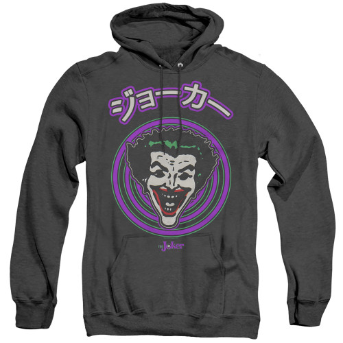 Image for Batman Heather Hoodie - Joker Face Spiral