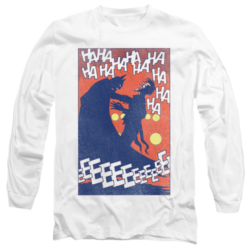 Image for Batman Long Sleeve T-Shirt - Joker Punchline