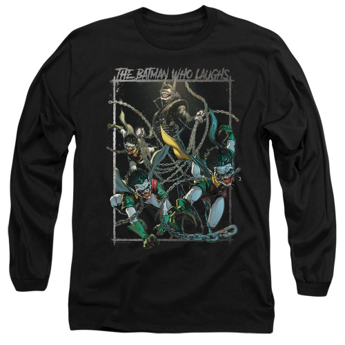 Image for Batman Long Sleeve T-Shirt - Joker The Batman Who Laughs
