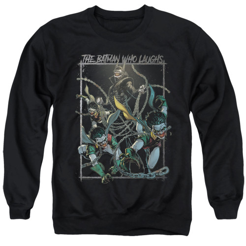 Image for Batman Crewneck - Joker The Batman Who Laughs