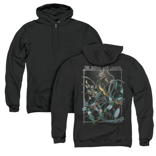 Image for Batman Zip Up Back Print Hoodie - Joker The Batman Who Laughs