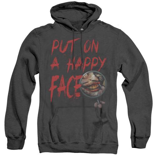 Image for Batman Heather Hoodie - Joker Happy Face