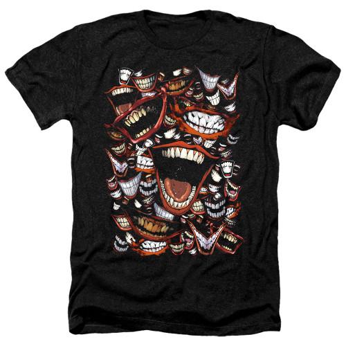 Image for Batman Heather T-Shirt - Joker Famous Wretch