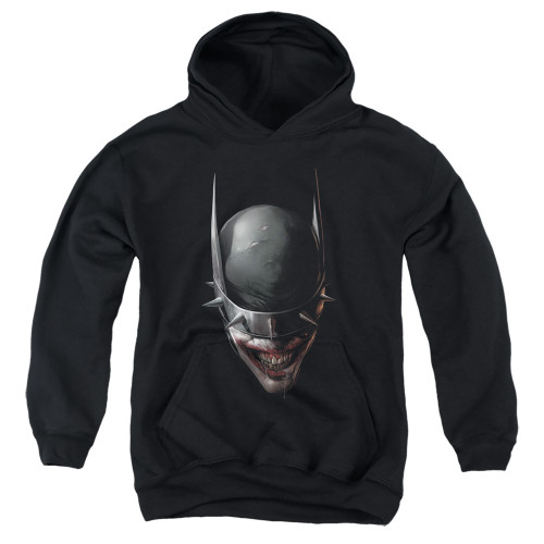 Image for Batman Youth Hoodie - Joker The Batman Who Laughs Head