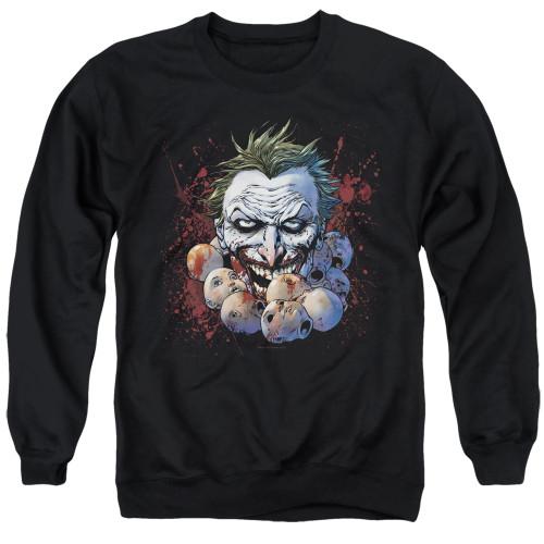 Image for Batman Crewneck - Joker Doll Heads